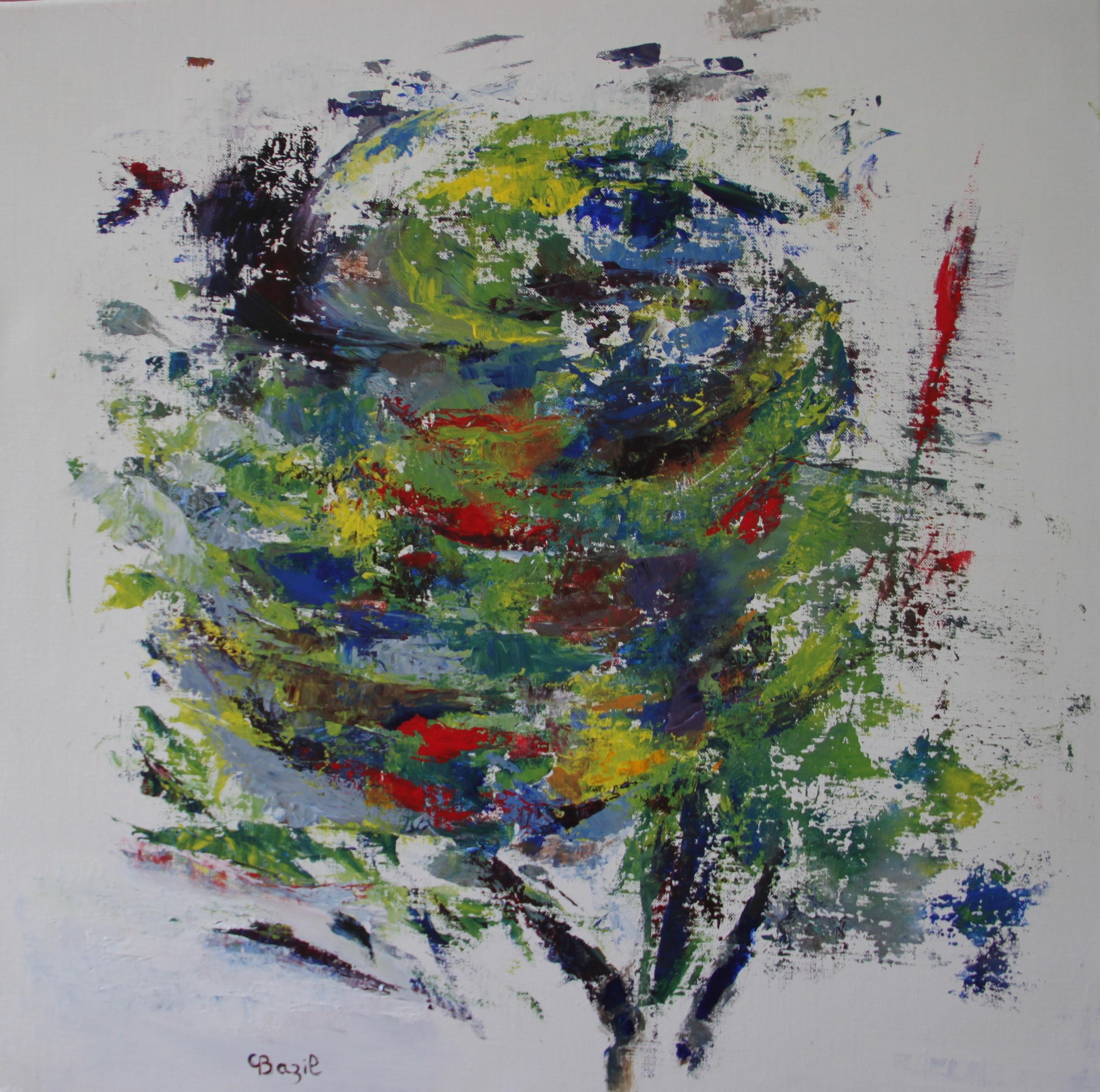 L'arbre généreux, 60 x 60